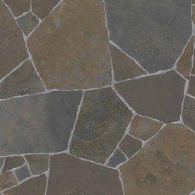 Ivc 13 1 8 Ft W Parador Stone Finish Sheet Vinyl Flooring Basement Design Basement Flooring