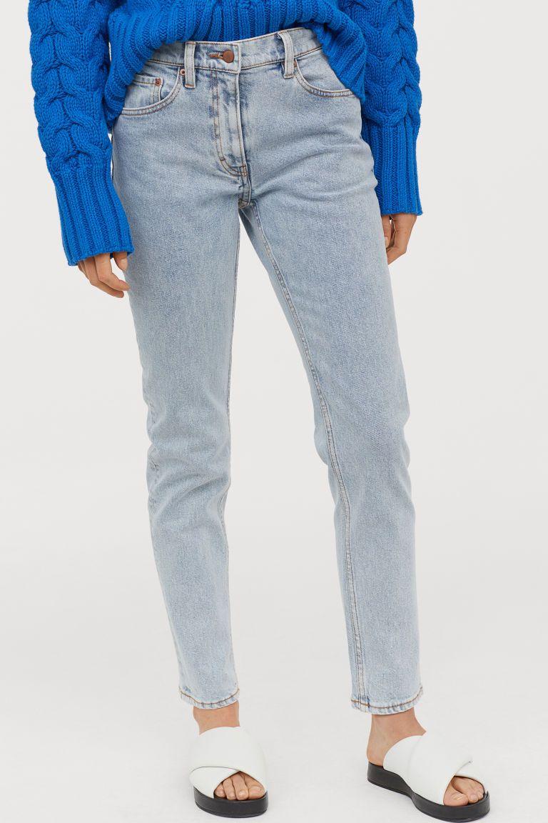 Hedendaags Slim Ankle Jeans (met afbeeldingen) | Lichte denim, Enkel jeans SJ-02