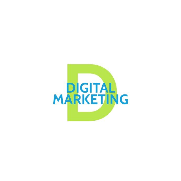 Digital Marketing Logo Design Postermywall Marketing Logo Design Marketing Logo Free Logo Templates