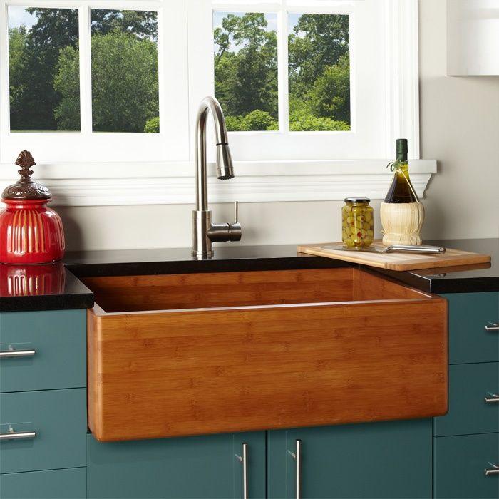 Galley Kitchen Sink: Farmhouse Apron Sink, Copper Farmhouse