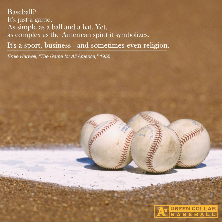 Baseball Love Quotes Motivationmonday Greencollar  Baseballisms  Pinterest