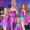 Jogar Vista Barbie Super Princesa da Moda - A princesa Barbie quer salvar o mundo e agora conta com ajuda de suas irmãs Skipper, Stacie e Chelsea. Agora elas precisam de trajes de super-heróis fabulosos, para combater o crime em grande estilo. Jogar este jogo da Barbie e suas irmãs super poderosas e divirta-se!