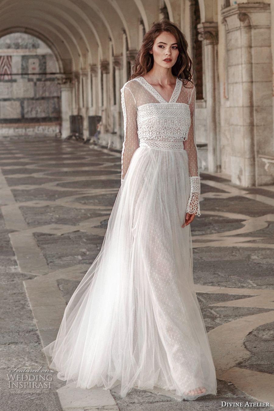 Divine atelier wedding dresses tulle skirts bodice and atelier