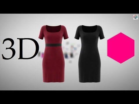 3d Fashion Design Software Optitex Technology With 2d Pattern