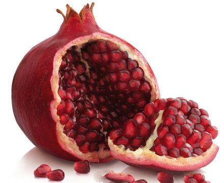 algunos beneficios de la granada o pomegranate romã pomegranate