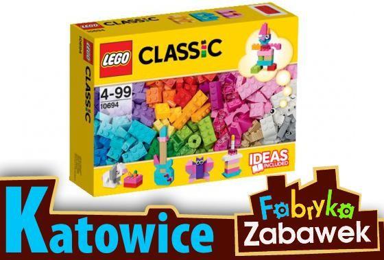 Lego Classic 10694 Budowanie W Jasnych Kolorach Prezenty Na 4