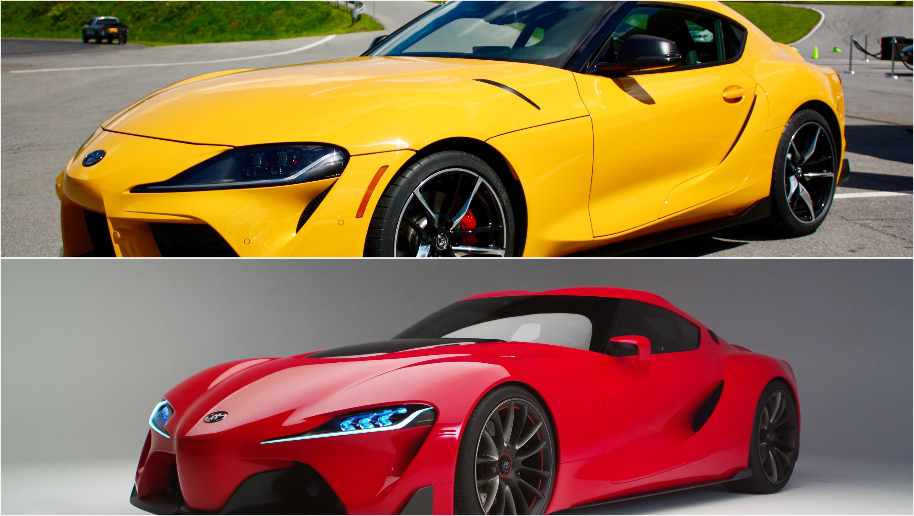 2020 Toyota Supra Vs 2014 Toyota Ft 1 Concept Top Speed Toyota Supra Toyota Toyota Car Models