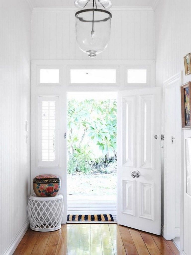 42 Awesome Stylish Small Entrance Ideas Home Feng Shui Front
