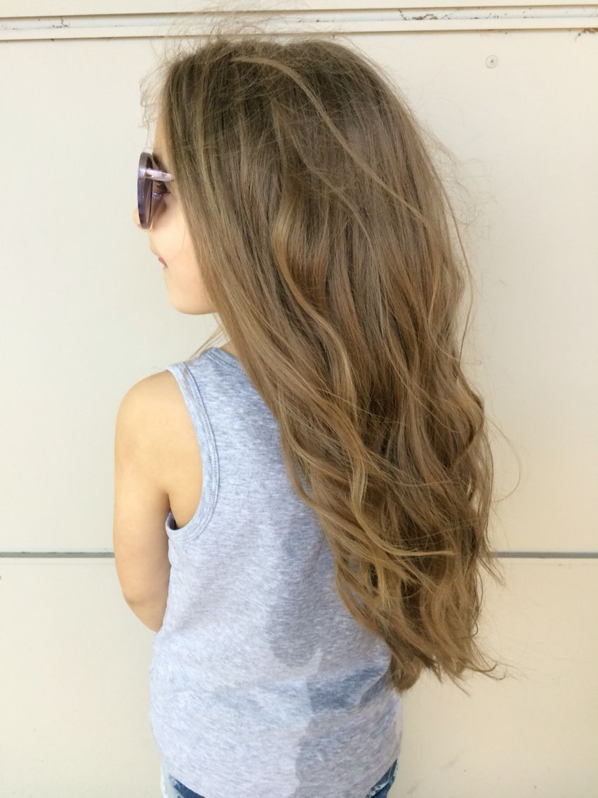 Kids Long Haircut With Gorgeous Wavy Curls Hair By Allison Varela