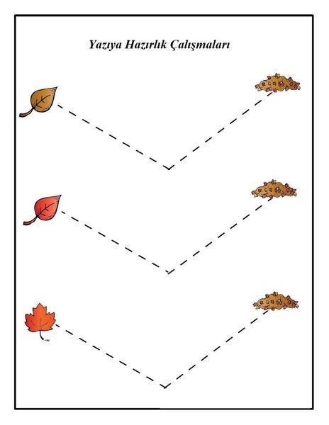 Bu Sayfamizda Sonbahar Mevsimi Konulu Yaprak Etkinlikleri