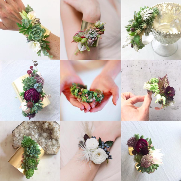 Pin By Passionflower Sue On Innovative Corsages Floral Accessories Floral Floral Cuff