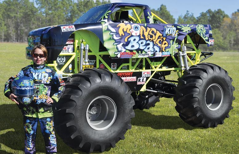 mini monster truck crushes every toy car your rich kid could ever want