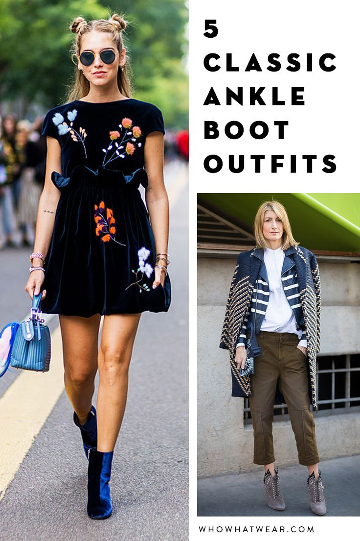 Ankle boot outfits that never go out of style