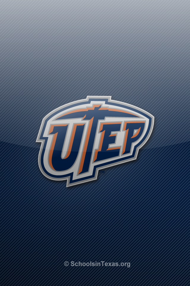 University El Paso Of Texas Football Logo Embroidery Designs New Iphone Wallpapers 2017 2018 Best Cars Review New Iphone Iphone Wallpaper Embroidery Logo