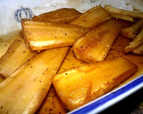 Baked Parsnips with Honey and Orange (by Annette) Recipe - Recipezazz.com