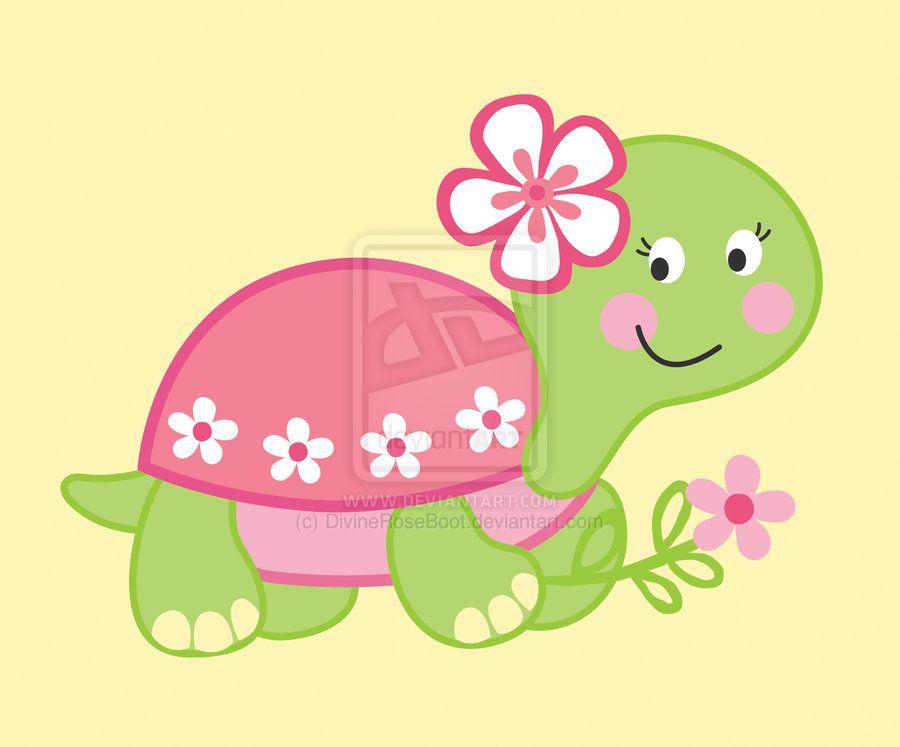 Girl Turtle By Roar7 On Deviantart Cartoon Turtle Turtle Drawing Cute Turtle Cartoon