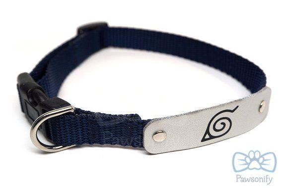 Naruto Dog Collar   zona naruto