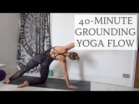 ALL LEVELS GROUNDING YOGA FLOW 40Minutes CAT MEFFAN
