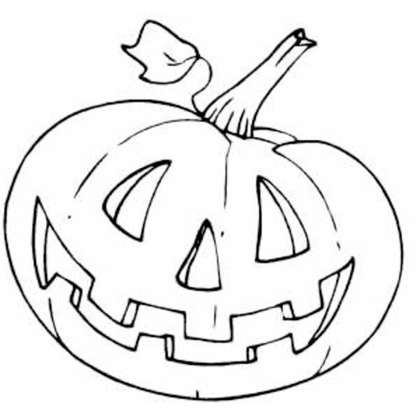 Pumpkins Halloween Coloring Page PageFull Size Image