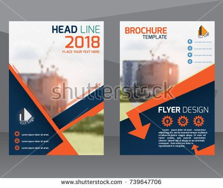 poster flyer pamphlet brochure cover design layout template with - pamphlet layout template