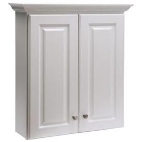 99 Style Selections Northrup White Wall Cabinet Actual D X W 31 H Interior
