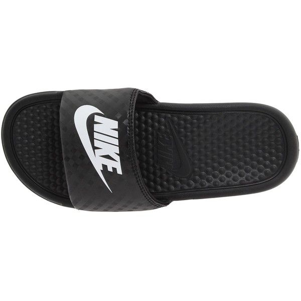 ede038d01f4aa Nike Benassi JDI Slide Women s Sandals ( 20) ❤ liked on Polyvore featuring  shoes
