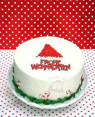 Kuchen fur weihnachten mit fondant