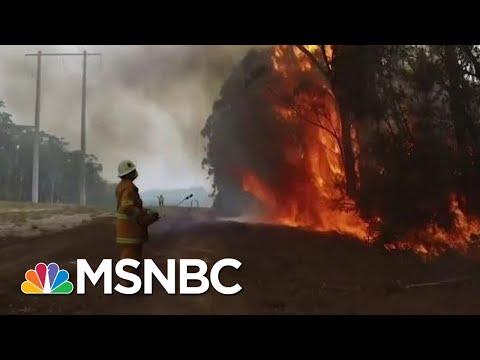 Australian wildfires spawn rarely seen weather phenomena