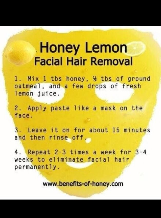 Sorry, that natural facial hair removers phrase