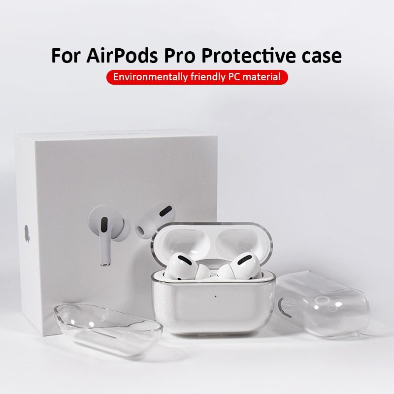 Transparent Silicone Protective Cover Case For Apple Airpods 3