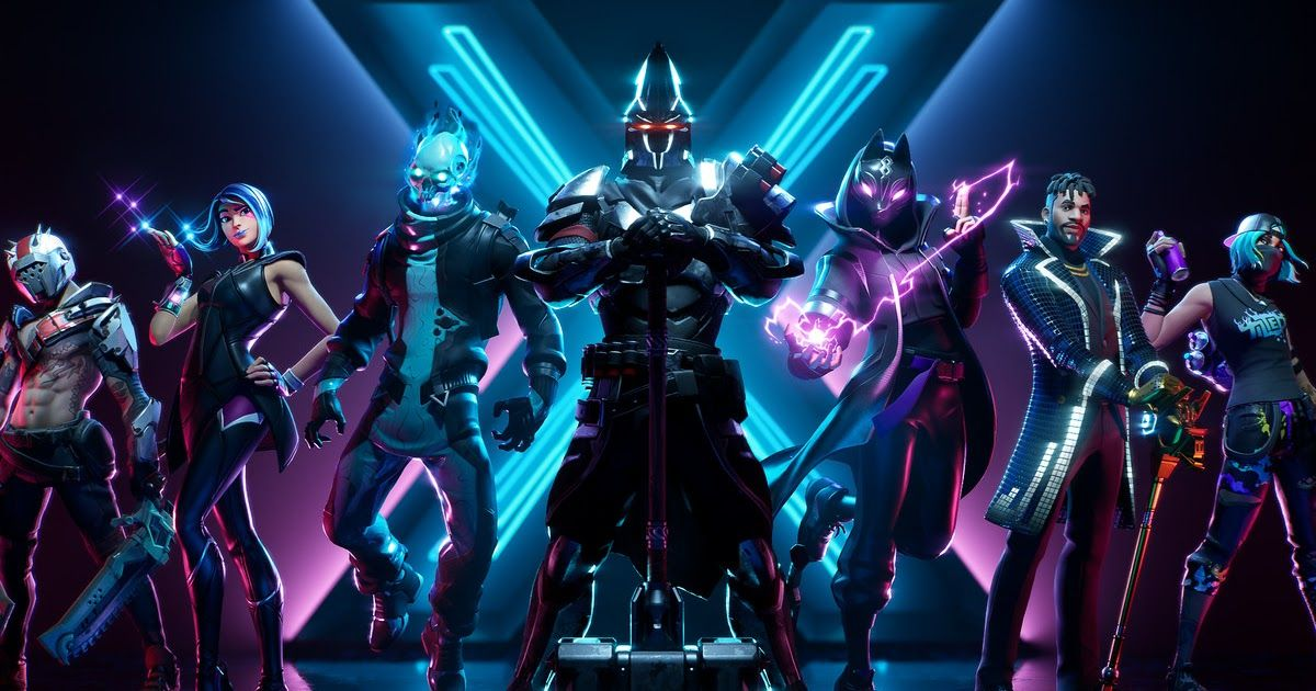 Fortnite Skins Wallpaper Hd Fortnite Season X Battle Pass Overview Skins Cosmetics And More Pixnite Download Wallpapers Battle Royale 2019 Fortnite Liburan