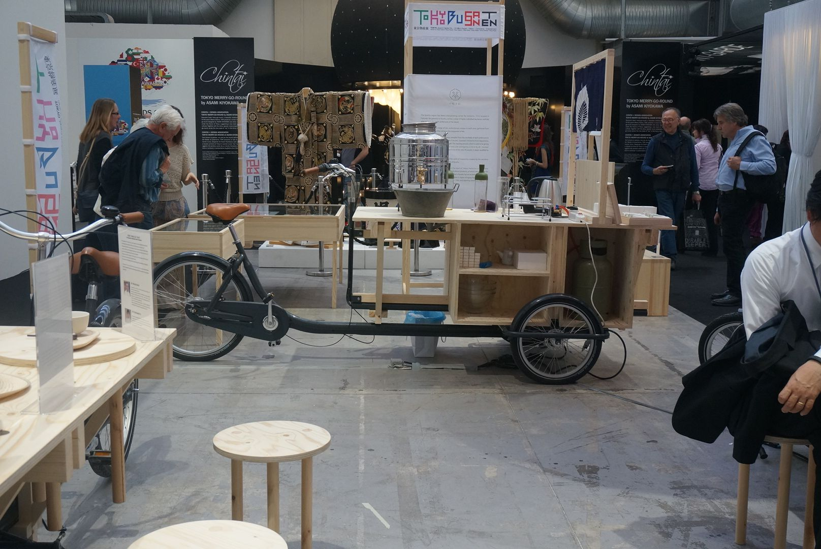 Babboe meets Tokyo Design at Salone del Mobile in Milan