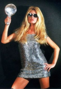 "Brigitte Bardot in ""Séance Disco,"" photographed by Sam Lévin, 1967"