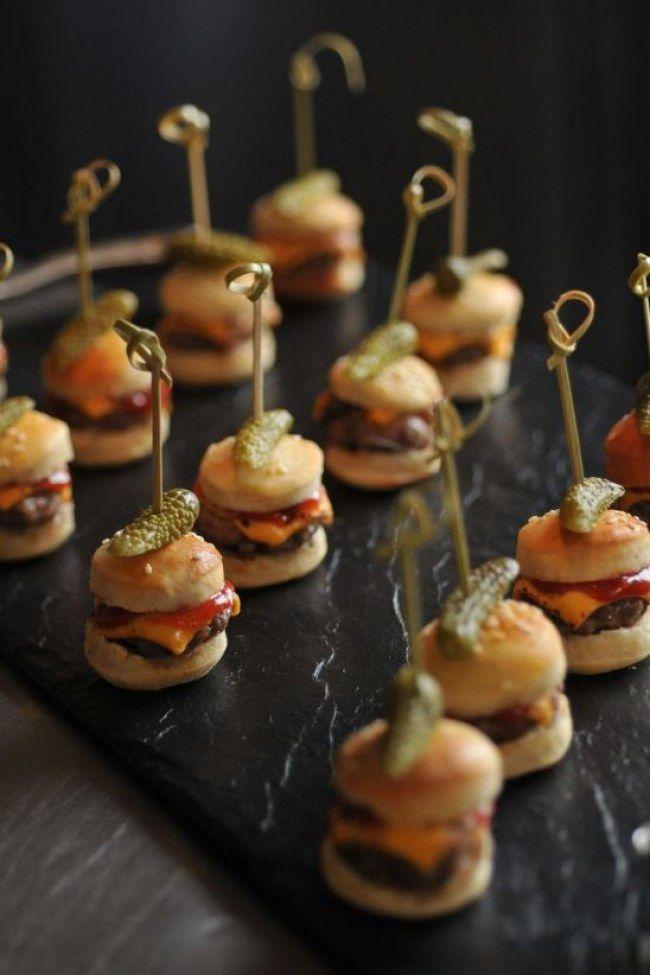 Klein, fein und mit einem Haps im Mund: Diese genialen Food Pops Rezepte machen dich zur Party-Gött #tapasideer