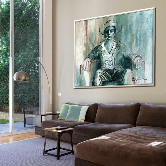 Extra Large Masculine Figure Wall Art Contemporary Art Print Masculine Contemporary Decor Canvas A Canvas Wall Decor Extra Large Wall Art Large Wall Art