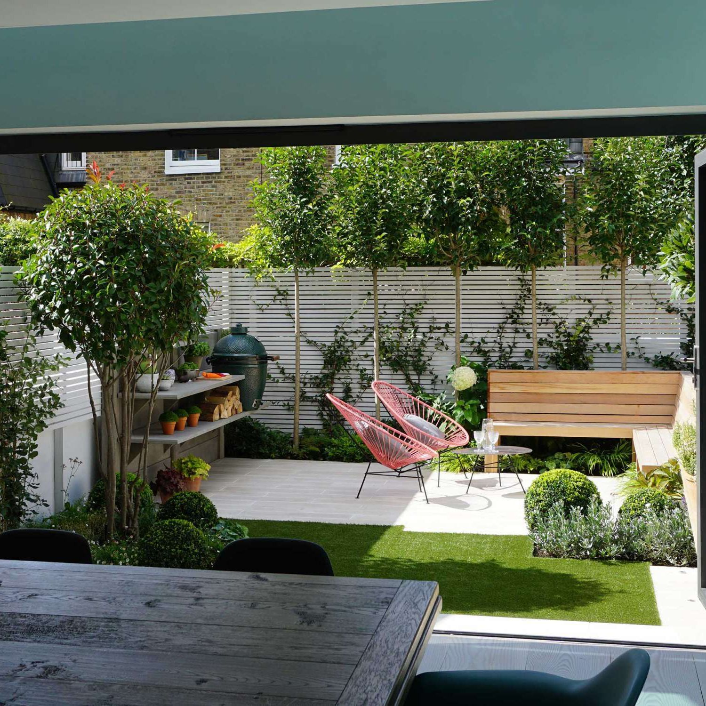 Wandsworth Garden Club London Courtyard Gardens Design Small Backyard Landscaping Small Courtyard Gardens