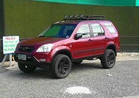 Lifted Crv Top Rack With Lights Honda Crv Honda Crv Awd Honda Crv 4x4