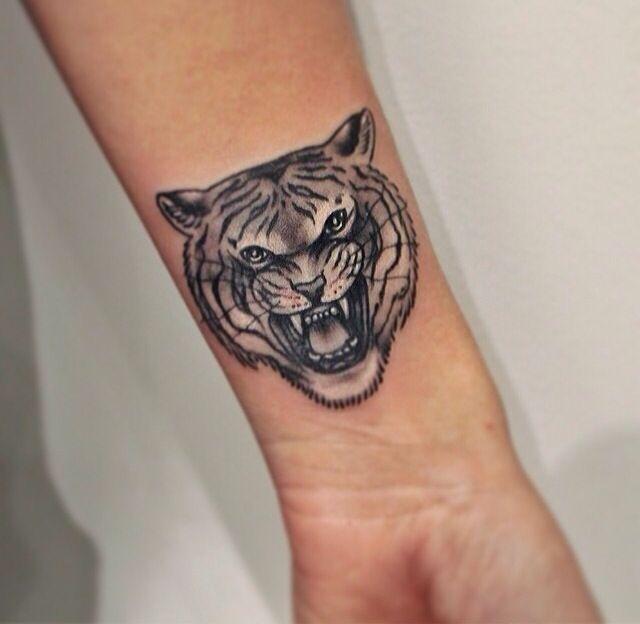 Tiger Wrist Tattoo Black Bird Tattoo Tattoos Small Black Tattoos