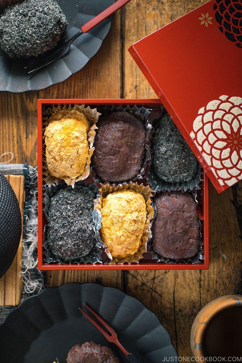 Ohagi (Botamochi) おはぎ (ぼたもち) • Just One Cookbook | Recipe in 2020 |  Japanese sweet, Red bean paste, Asian desserts