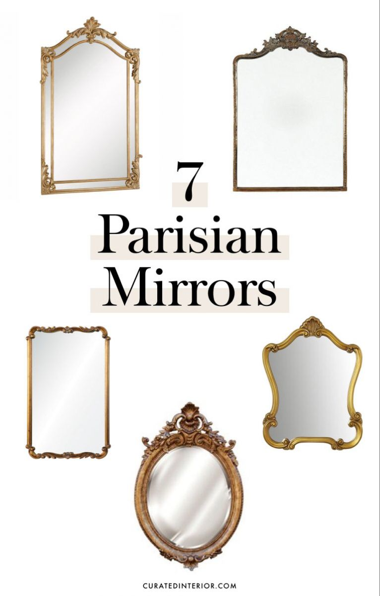 "Photo of 7 Parisian Style Gold Mirrors to Say ""Oui"" to"