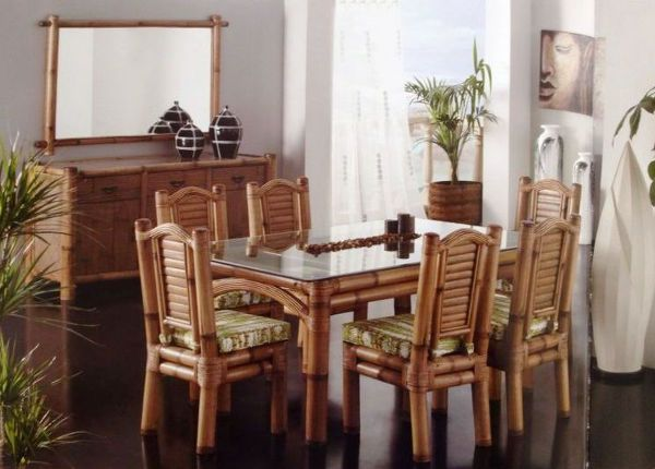 muebles de rattan en muebleria artesania IVOS caleta de velez ...
