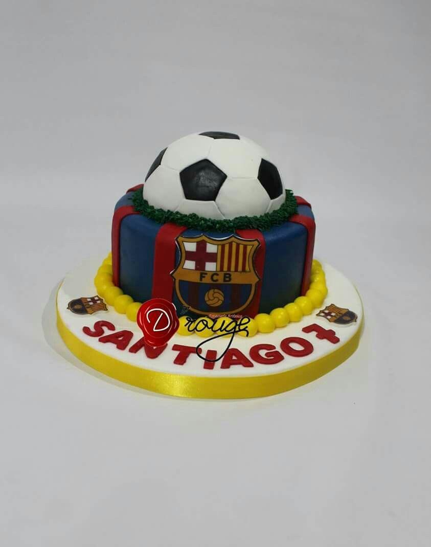 Medellín Barcelona Cake Birthday Cake