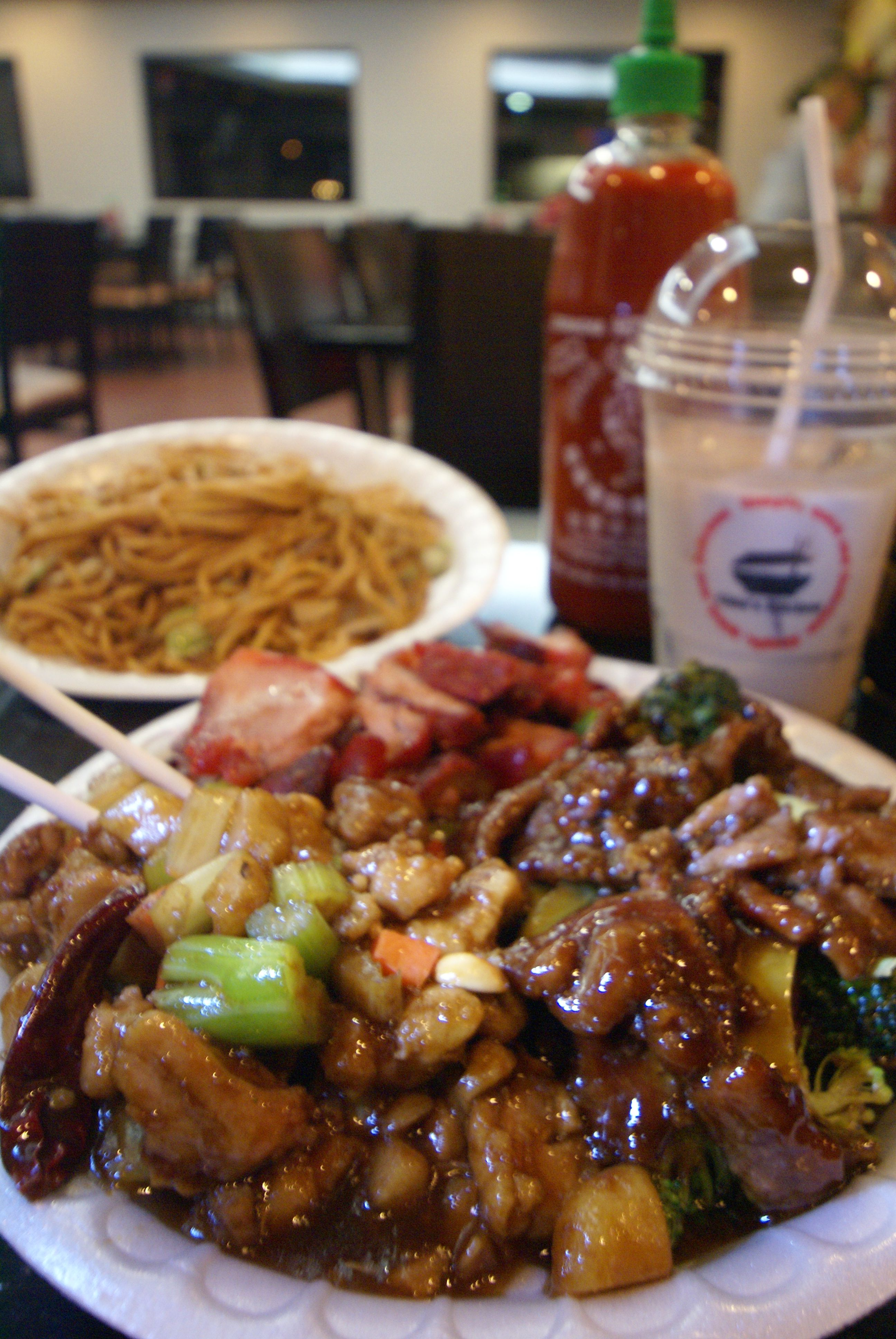 Chin S Chinese Kitchen Off Tustin Street In Orange Serves So