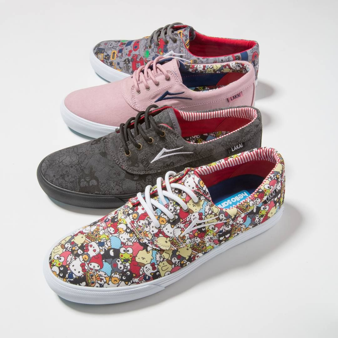 58f704bab782 The hello sanrio collection from Lakai Limited Footwear is here! Find the  coolest shoes