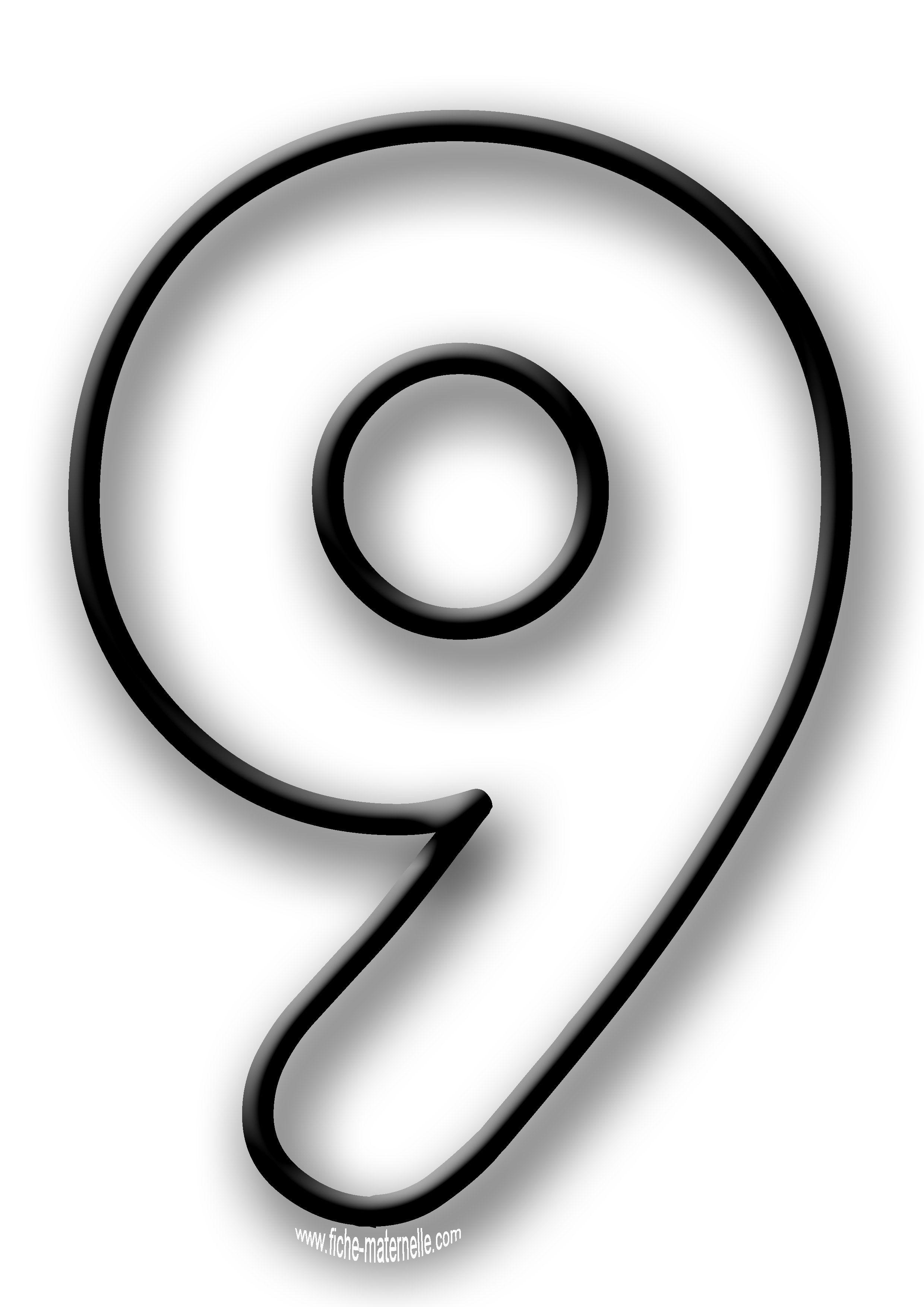 Coloriage des chiffres lettres d coratives pinterest coloriage chiffre chiffre et coloriage - Chiffre a imprimer ...
