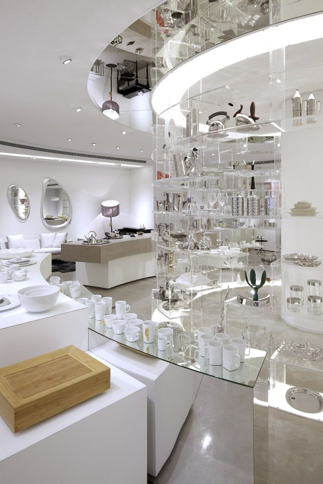 most popular official factory authentic Tollman's Alessi flagship store at Project YOO, Tel-Aviv ...