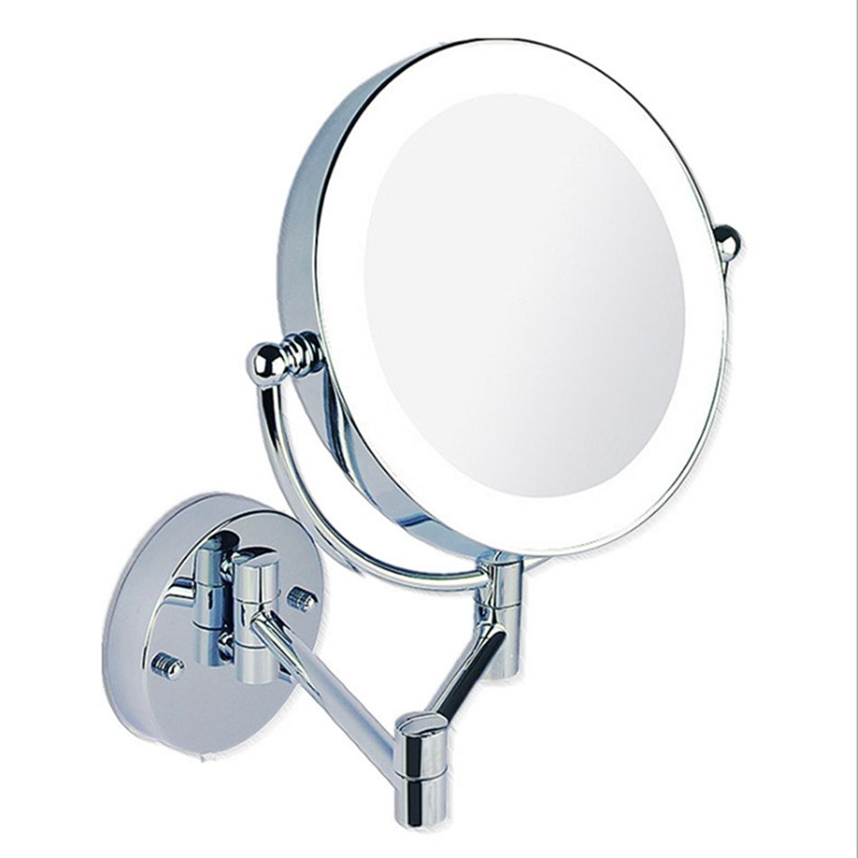 Danycase Com Led Bathroom Mirror Wholesale Makeup Mirrors Led Wall Mounted Extending Folding Double