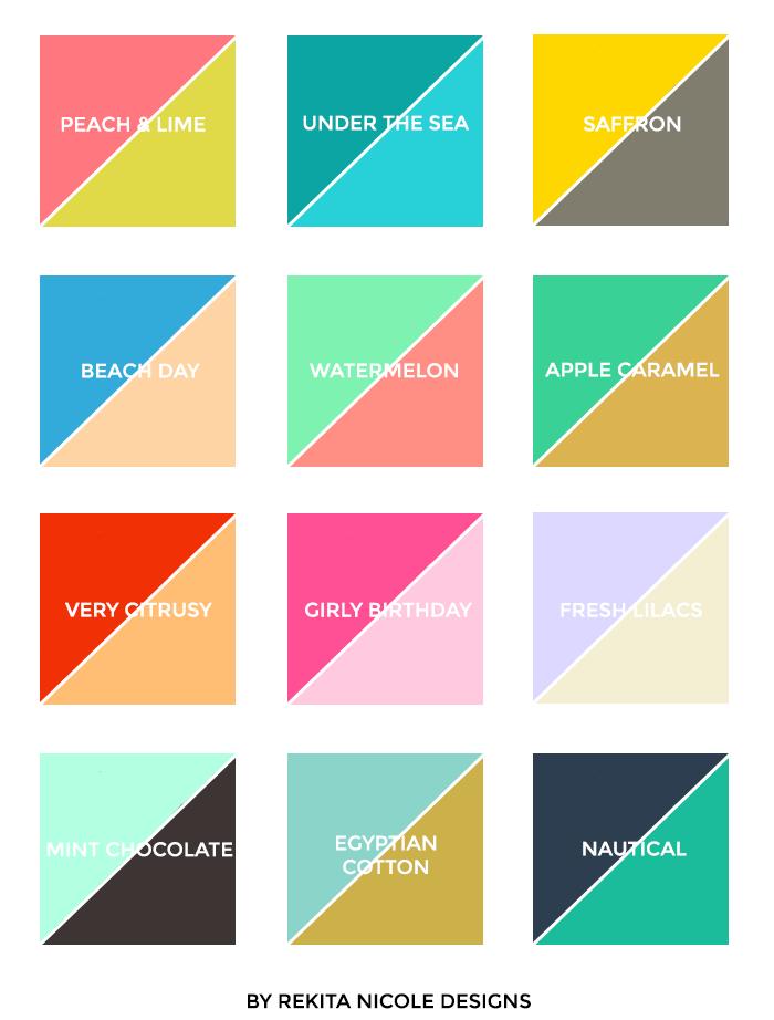 C mo combinar colores y no morir en el intento dise o for Como combinar colores de pintura