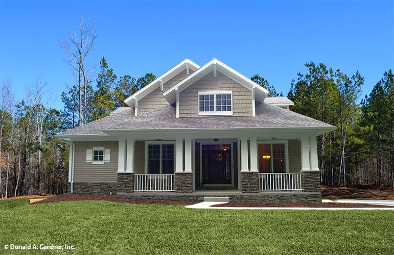 Plan Of The Week Under 2500 Sq Ft The Wexler House Plan