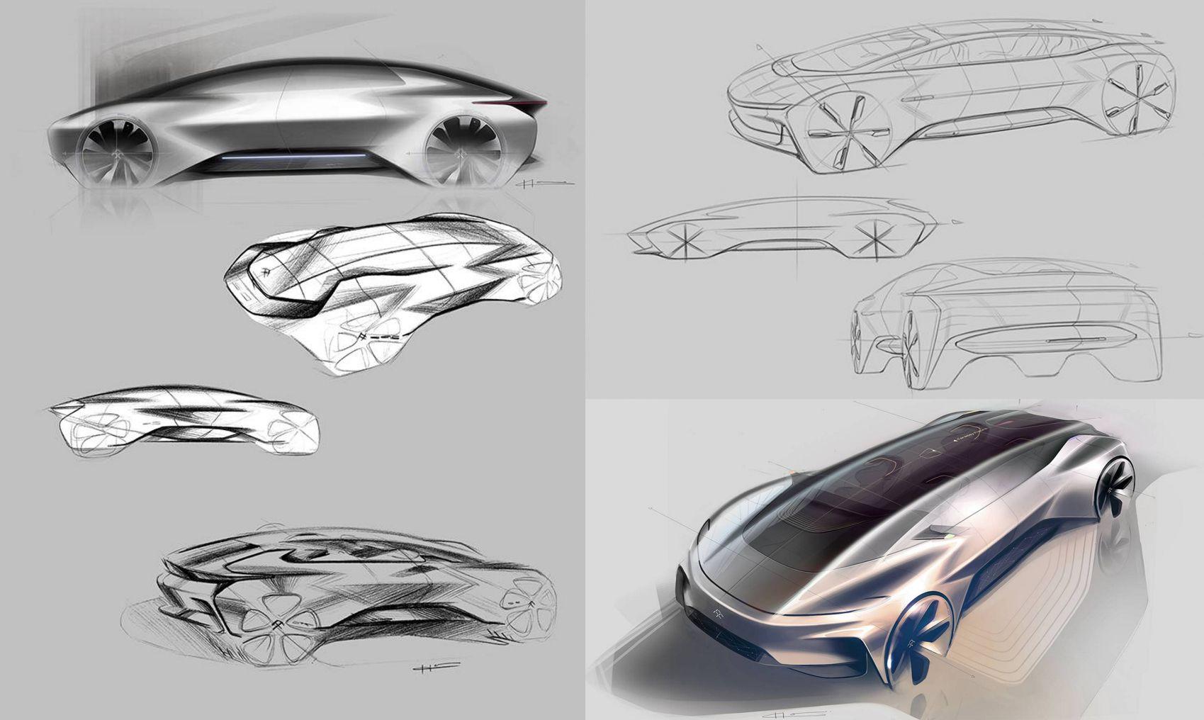 2017 Faraday Future Ff 91 Faraday Future Electric Car Design Car